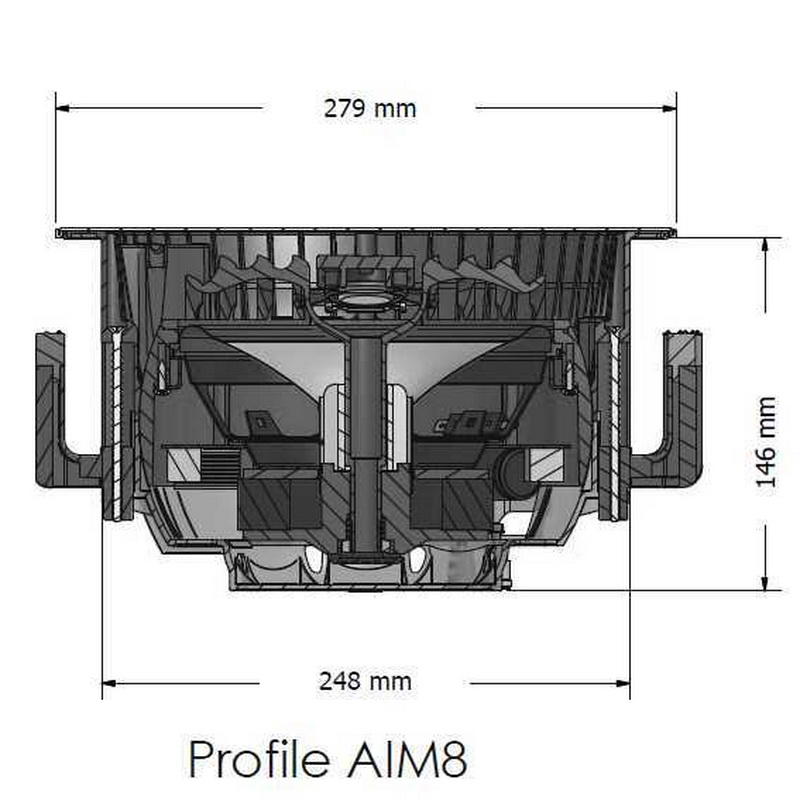 SpeakerCraft PROFILE AIM8 THREE