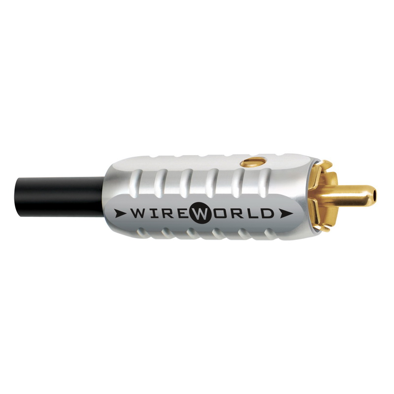 Wireworld Male Gold Tube RCA 6.5mm