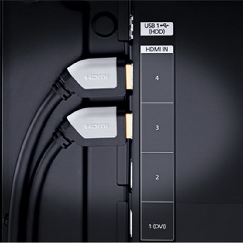 Oehlbach Shape Magic-HS HDMI black 1.2m