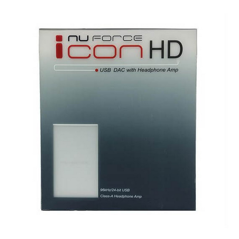 NuForce ICON HD Silver