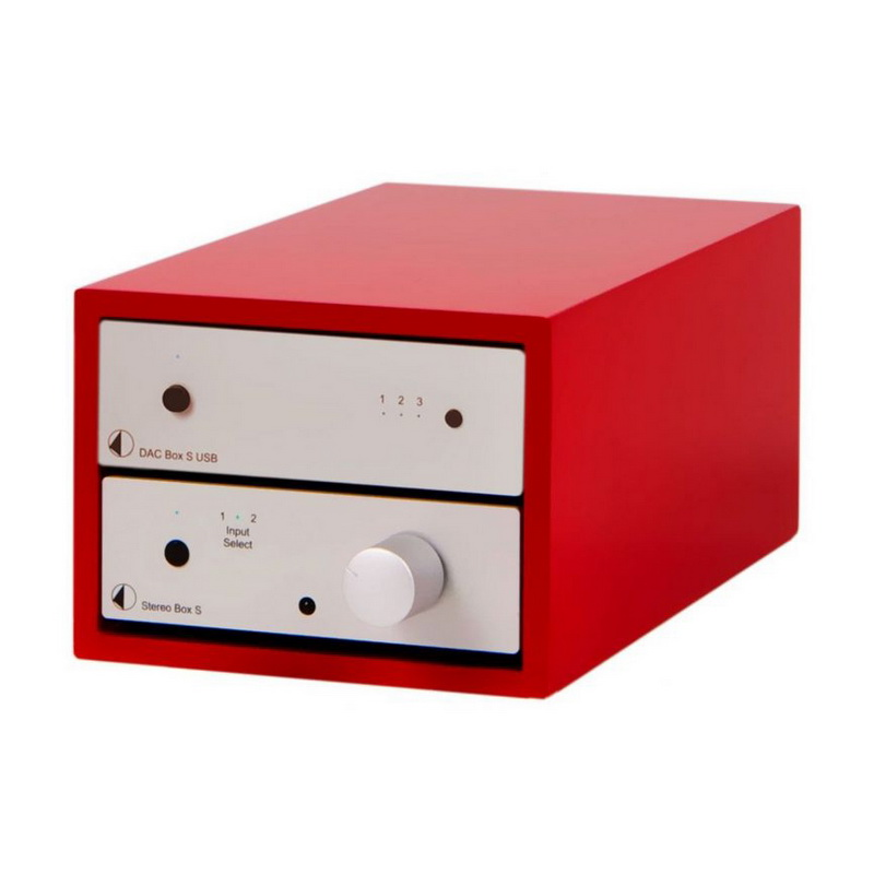 Pro-Ject Design Box 2 PB Acryl Red