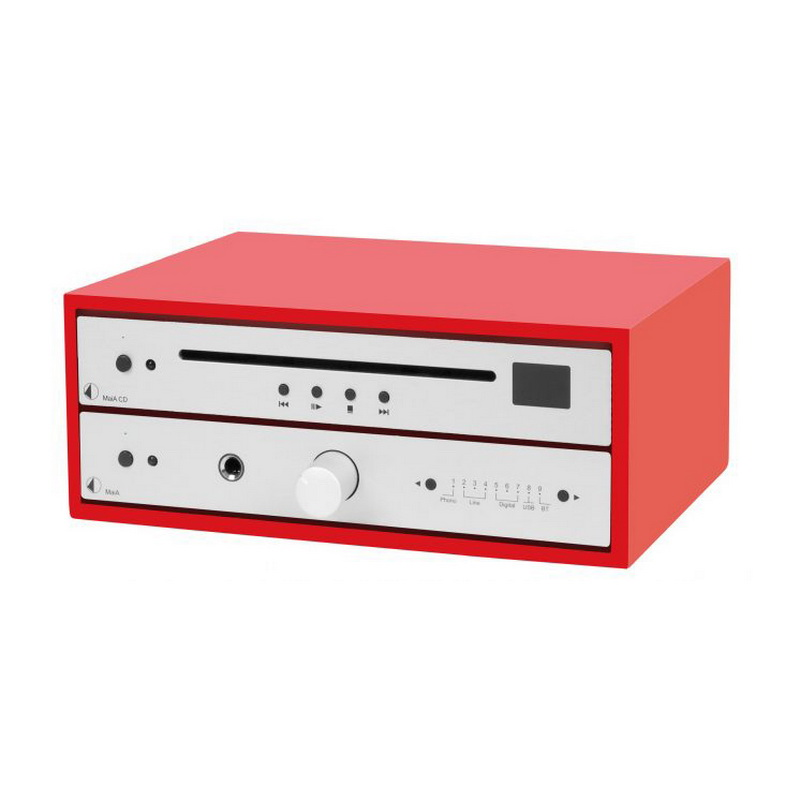 Pro-Ject Design Box 4 PB Acryl Red