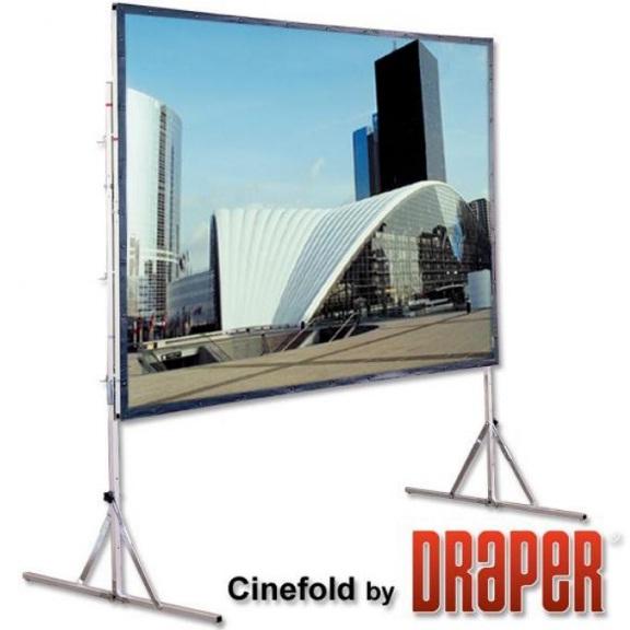 мобильный проекционный экран - cinefold