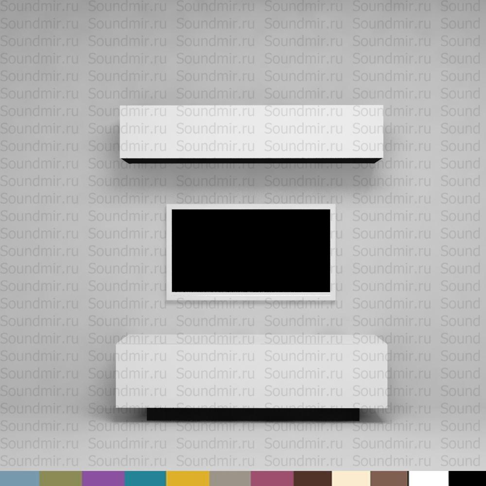 Стенка MD Color композиция №1 - белый глянец