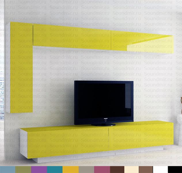 Стенка MD Color глянец желтый