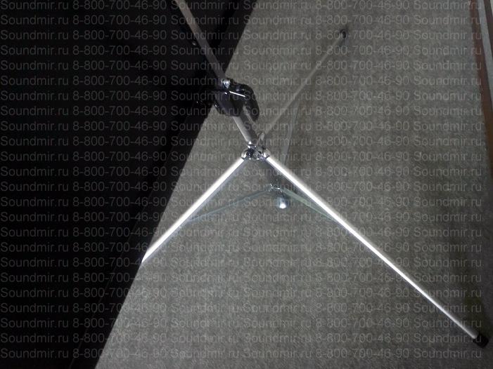 проекционный экран на штативе - тренога вид сверху
