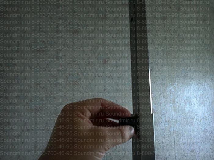 переносной экран для презентаций - регулировка штанги