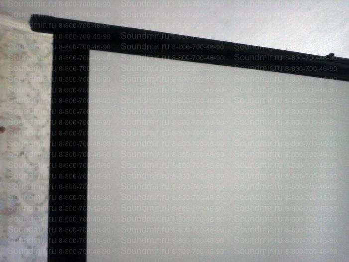 переносной экран для презентаций - полотно крупно