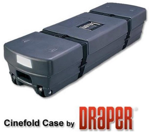 переносной экран - в чемодане-кейсе